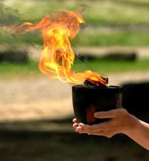 Hestia's flame