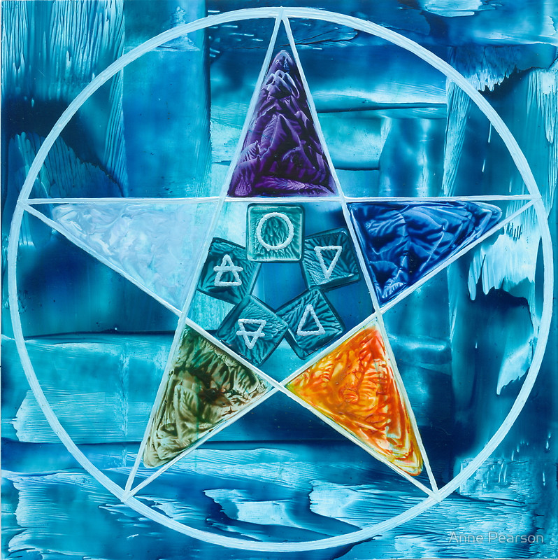 the pentagrampentacle the magickal pen