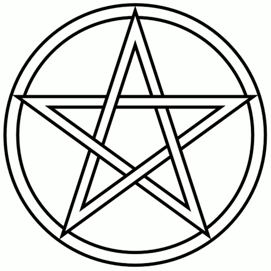 Drawing Lines Meaning : The pentagram pentacle magickal pen